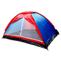 Bobcat 6-Person Monodome Tent with Box Blue/Red