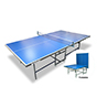 Sunflex Table Tennis Table with 2 Rackets & Net and Post Set