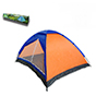 Bobcat 4-Person Monodome Tent with Box Blue/Orange