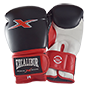 EXCALIBUR NORMAL PU GLOVES BLACK, RED, WHITE